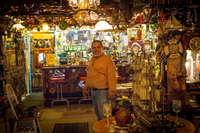 Eddie - proprietor of Cafe Frank