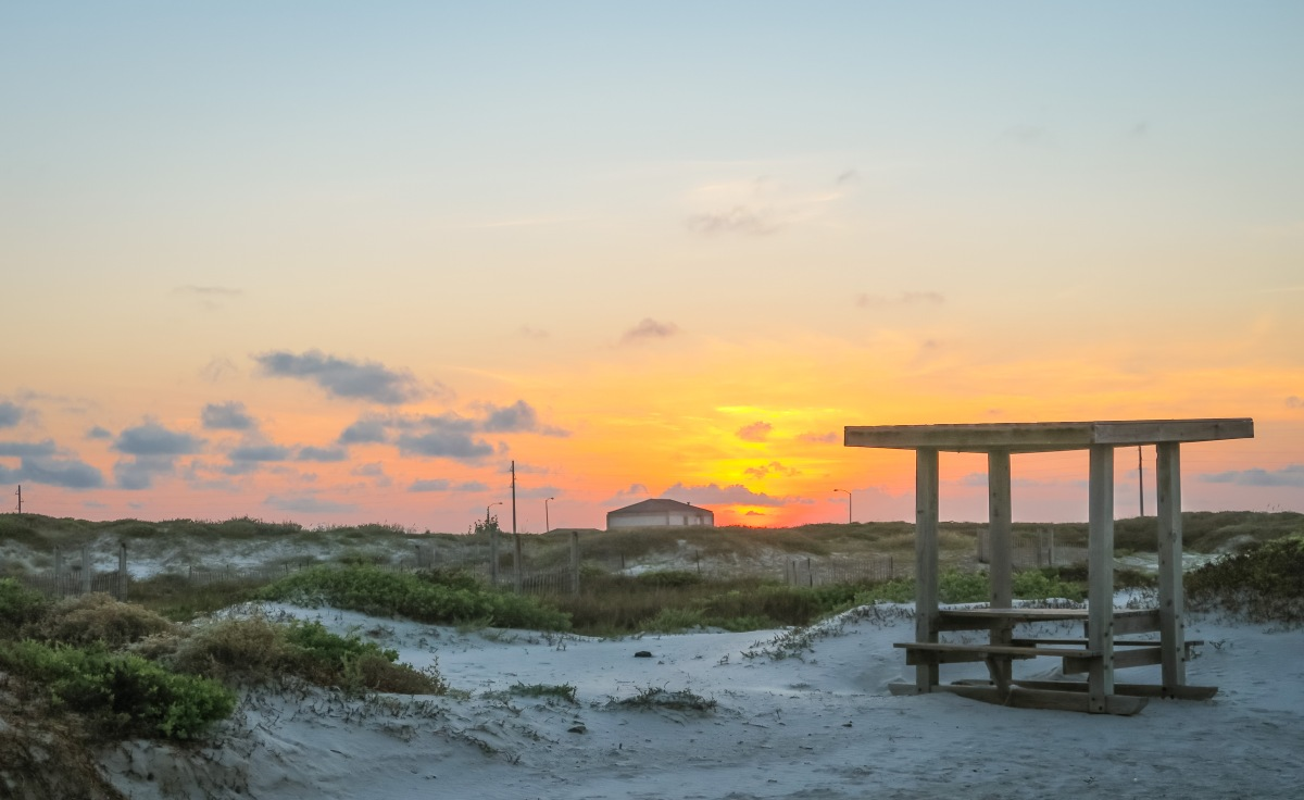 Goose Island State Park Or Mustang Island State Park